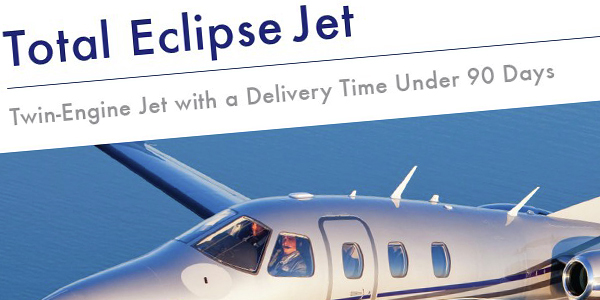 A Quick Fact Sheet About the Total Eclipse Twin-Engine Jet
