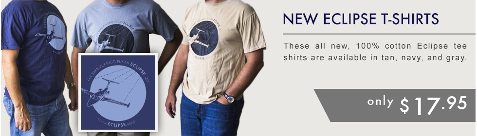 Eclipse Tee Shirts in Multiple Colors