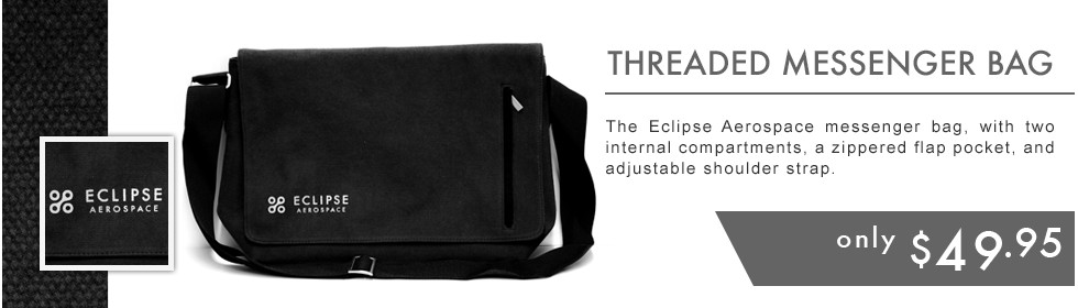 Eclipse Messenger Bag