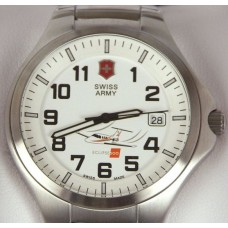 Swiss Army Round White Face Watch